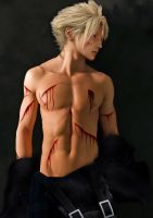 Cloud Strife shirtless by cloudstrifeshirtless