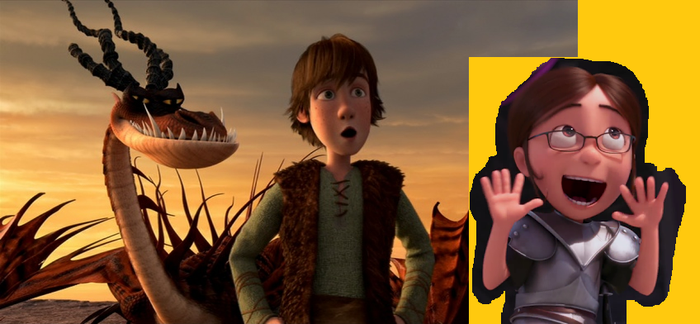 Hiccup x Margo by PeteDRaptor