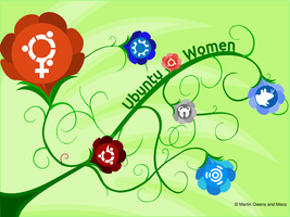 Ubuntu Women: Green by doctormo