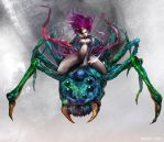 Spider witch by ivangod
