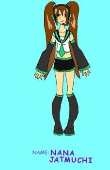 Nana as a vocaloid by Xwaterbender-of-funX