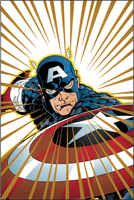 Comic art 01- Captain America by buffman