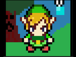 Zelda: Link Pixel Art by AxelRaptr