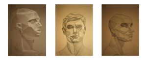 Facial Studies by Little-Bluefish