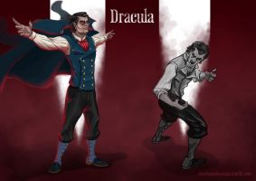 Dracula's redesign by ChuchuaN