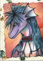ACEO trade with Dragea by Suane