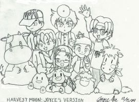 Harvest Moon: Joyce's Version by xacani