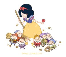Adventure Time x Snow White by patabot