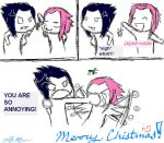 no kisses on christmas. by 1AnImEcRaZy1