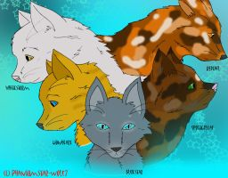 Cats of StarClan - ThunderClan by Phantomstar-wolf7
