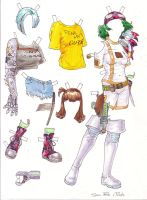 Paper Doll Outfit 5 by melukilan