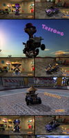 The hatters in Modnation Racers by Trifong