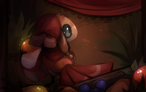 the forest merchant [7/1/15] by Skelefrog