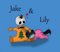 Jake and Lily by Dryft-Art