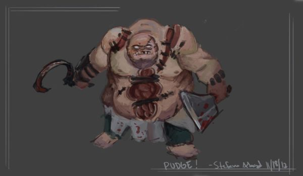 Dota 2, Pudge by ProfessorWilko