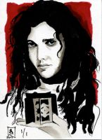 Women of Horror SC- Ashley Laurence by kreepykustomz