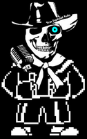 Ghost is a Melting Pot of Megalovania by thebestmlTBM