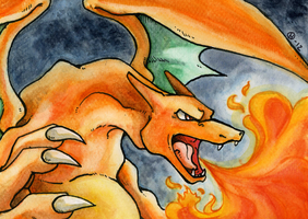 Charizard by Eyeless1703