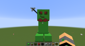 mister free in minecraft by leafpool12
