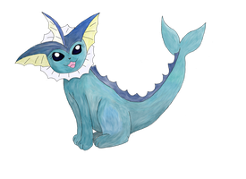 Vaporeon by Miss-Mccookies