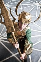 Loki Laufeyson the God of Mischief by TerraEbon
