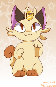 Meowth by CookieBot990
