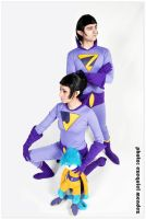 THE WONDER TWINS 2 by EzeMendez