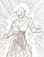 Power Up Piccolo by Zepeda