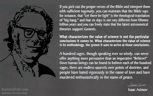 Isaac Asimov on Science and Religion.. by rationalhub