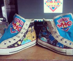 Doctor Who Kicks by marywinkler