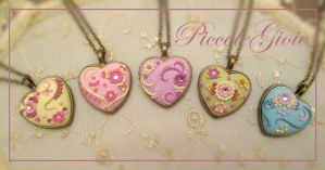 pastels heart cameo by PiccoleGioiefimo