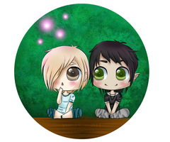 Finnian And Van by AngelLale87