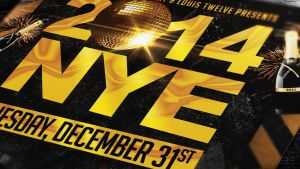 NYE New Year Eve Party | Flyer + Facebook Cover by LouisTwelve-Design
