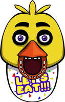 Five Nights at Freddy's Chica shirt design by kaizerin