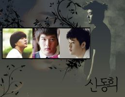 SuJu: Shindong Wallpaper by KirstyR