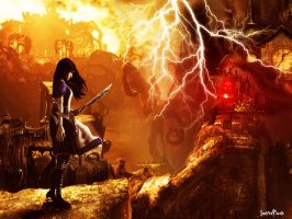 Alice Madness Returns by luciferFlash