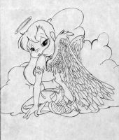 Angel Baby Brittany by CTW36