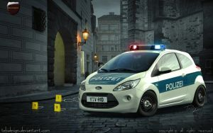 Ford Ka Polizei by tebidesign