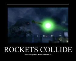 Rockets Collide by LateNightBandicoot