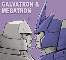 G1 Galvatron and Megatron by J-666