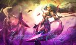 LoL: Diana Wallpaper/Background by atomicalix
