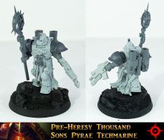 Thousand Sons Techmarine UP by Proiteus