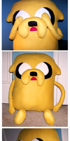 Jake the Dog Plush by Ginnunga