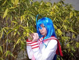 Konata from Lucky Star by cherryteagirl