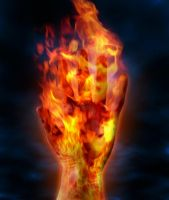 Hand of Fire by qzr1