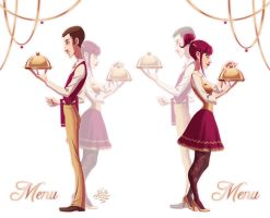 Christmas menus 2011 by JackPot-84