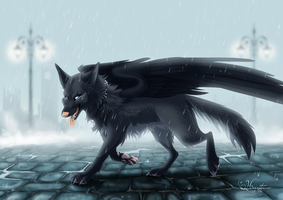 The fallen one by hecatehell