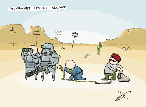 Pickpocket level: Fallout by crashgordon