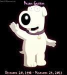 Brian Griffin R.I.P by Airest27