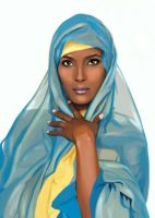 Waris Dirie by MartaDeWinter